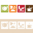 Food And Drink Icons — Stock Vector #18209611