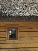 Casa de madeira — Fotografia Stock