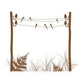 Rural Design Frame — Stock Vector