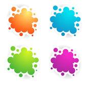 Различные цвета Copyspace образцов — Cтоковый вектор