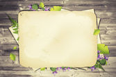 Scrapbooking Natural Background — Stock Photo