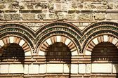Old Stone Exterior Decoration — Stock Photo