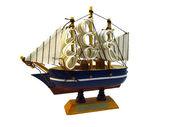 Ship frigate — Stock Photo
