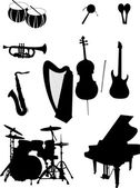 Musical instrument — Stock Vector