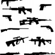 Weapon collection - Vektorgrafik