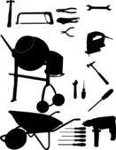 инструменты коллекция — Cтоковый вектор