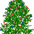 Christmas tree — Stock Vector #36866691