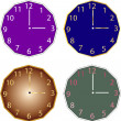 Clocks collection — Stock Vector #38629797