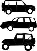 Cars illustration — Stock Vector