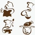 Постер, плакат: Italian cook symbols