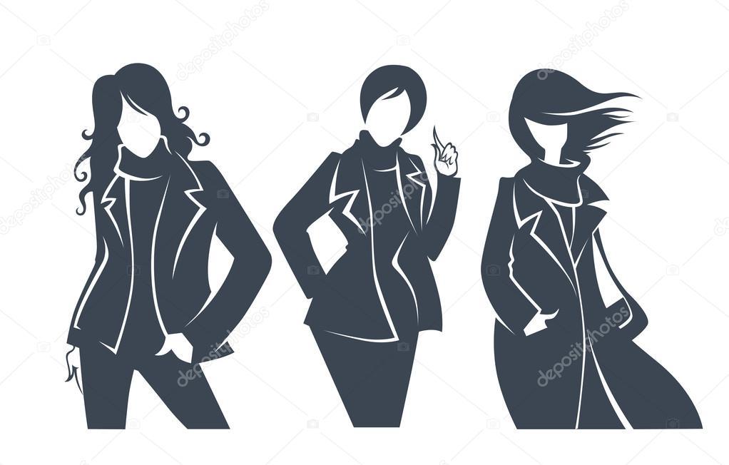 Одежда Женская Силуэт