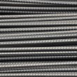 Stock Photo: Deformed Steel Bars