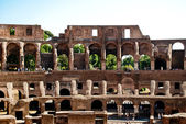 Colosseum inside. side view. — Stock Photo