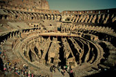 Colosseum inside. upper view — Stock Photo