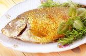 Pesce al forno — Foto Stock