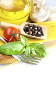 Ingredients for pasta — Stock Photo