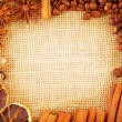 Stock Photo: Aroma spice and coffee bean