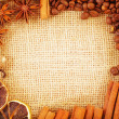 Aroma spice and coffee bean — Stock Photo