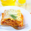 lasagna — Stock Photo #14301323