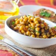 Bowl of chickpeas — Lizenzfreies Foto