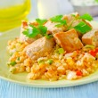 Rice with meat — Stock Photo #14305967