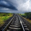 Stock Photo: Rail road