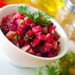 Salad with beet — Foto Stock