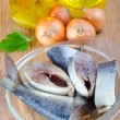 Stock Photo: Herring fish