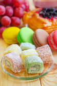 Sweet rolls — Stock Photo