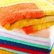 Stack of towels - Stock Photo