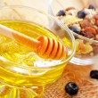 Delicious honey — Stock Photo
