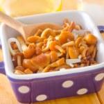 Pickled mushrooms — Stock Photo