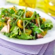 Salad with chicken - Stock Photo