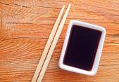 Salsa de soja — Foto de Stock