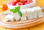 Feta cheese and tomatoes — Stock Photo
