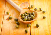 Green capers — Stock Photo