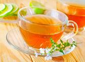 Fresh tea — Stock Photo
