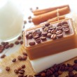 Coffee soap — Foto Stock