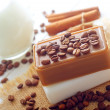 Stock Photo: Coffee soap