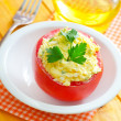 Tomato with cheese — Stock Photo #14957963