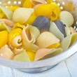 Color pasta — Stock Photo