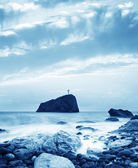 Sea in Crimea — Stock Photo