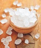 Zucchero nella ciotola — Foto Stock