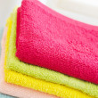 Soap and towels — Stock Photo #18860729