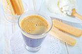 Ingredients for tiramisu — Stock Photo