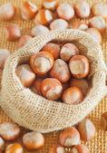 Hazelnuts — Stock Photo