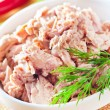 Salad with tuna — Stock Photo #19253833
