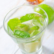 Water with lime — Stock Photo #19641839