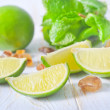 Ingredients for mojito - Stock Photo