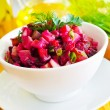 Salad with beet - Stockfoto